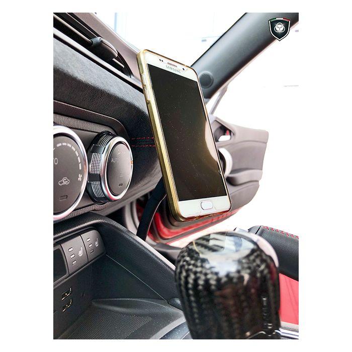 porta cellulare Supporto Smartphone auto Fiat Lancia Alfa Romeo Originale
